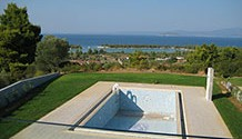 VIP villas with a breathtaking view at Glarokavos, Halkidiki / HKG-147V
