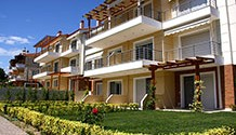 Maisonettes and apartments in a residential complex in Siviri, Halkidiki / HKS-118C