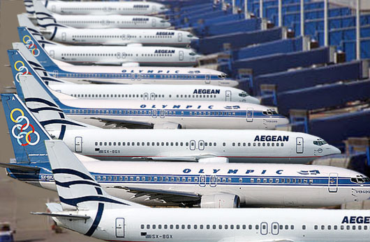 EU Approves Aegean Airlines Buy Of Olympic Air 1