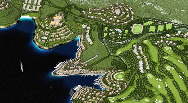 Ithaca Island In Greece To House Mega Luxury Resort