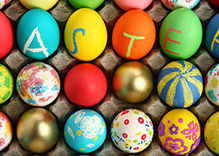 Happy Easter with our best wishes