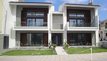 Newly built apartments in Pefkochori, Kassandra / HKP-170A