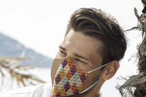 Men's Patterned Nano Masks