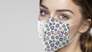 Women's Patterned Nano Masks