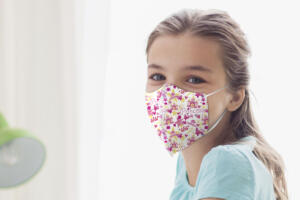 Girls Patterned Nano Masks